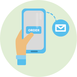 Notification Online Ordering